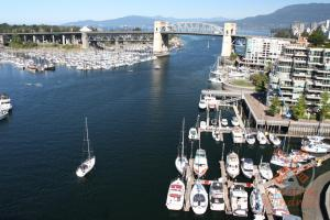 Vancouver aerial photography - Granville Island
